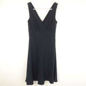 J Crew Formal Sleveless Dress Silk Polyester